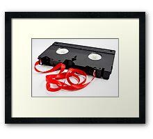 Red Tape Framed Print