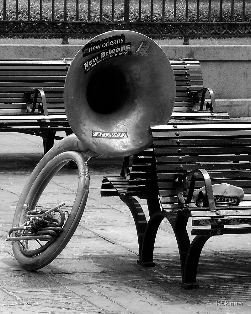 Lonely Tuba by KSkinner