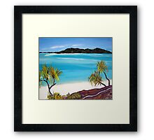 Whitsundays  Framed Print