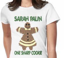 Sarah Palin  One Sharp Cookie Womens Fitted T-Shirt