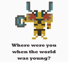 Elder titan - Where were you when the world was young? by BrewMasterMD