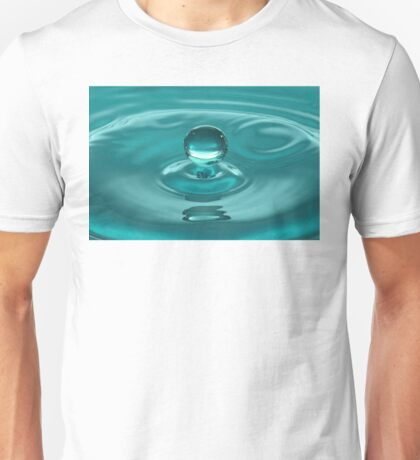 Turquoise Water Drop Unisex T-Shirt