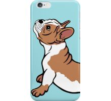 Boston Bull Terrier Puppy Brown iPhone Case/Skin