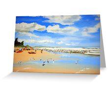 Coolum Beach  Greeting Card
