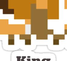 Sand king - King of the Desert Sticker