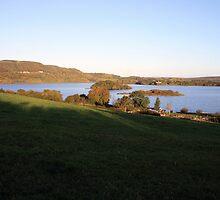 Inchiquin lake morning view by John Quinn