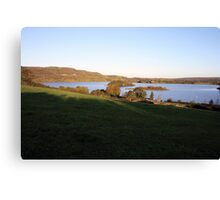 Inchiquin lake morning view Canvas Print