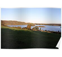 Inchiquin lake morning view Poster