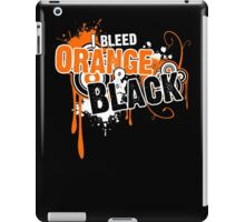 I Bleed Orange and Black iPad Case/Skin