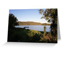 Inchiquin lake morning view 2 Greeting Card