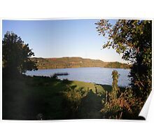 Inchiquin lake morning view 2 Poster