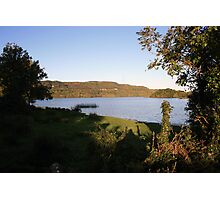 Inchiquin lake morning view 2 Photographic Print