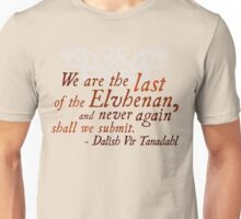 Dalish Vir Tanadahl Unisex T-Shirt