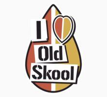 I Heart Old Skool by Mike Stevens