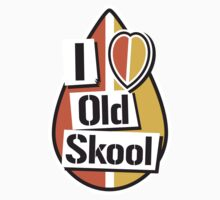 I Heart Old Skool by Mike Stevens