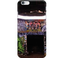 An Old Abandoned Graffitied Building iPhone Case/Skin
