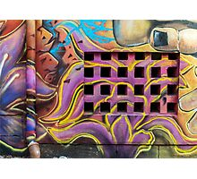 Graffiti drawings Photographic Print