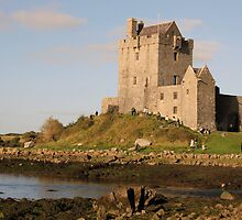 Dunguaire castle close up by John Quinn