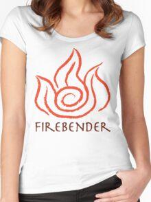 Firebender Women's Fitted Scoop T-Shirt