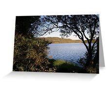 Inchiquin lake morning view 3 Greeting Card