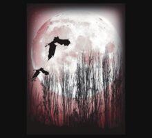 Full Moon Tee by dimarie