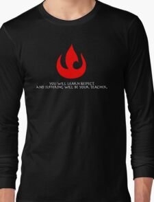 Fire Nation Lessons Long Sleeve T-Shirt