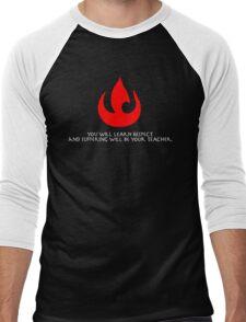 Fire Nation Lessons Men's Baseball ¾ T-Shirt