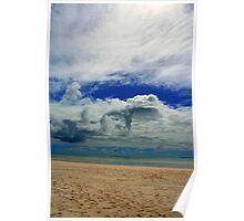 Clouds, Cocos (Keeling) Islands, Indian Ocean Poster