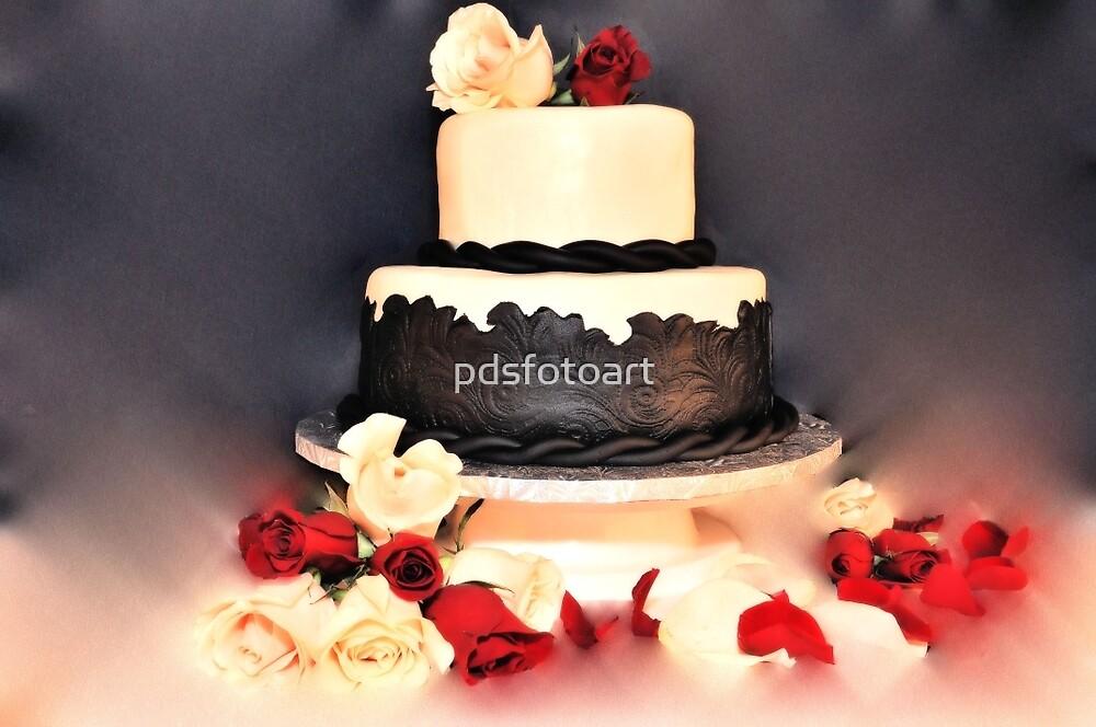 wedding cake by pdsfotoart