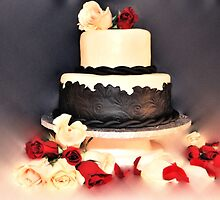 wedding cake by pdsfotoart