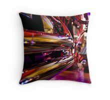 Exhaust Pipes Throw Pillow
