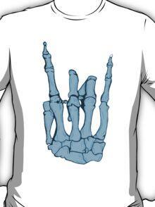 Skeleton hand | Blue T-Shirt