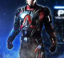 Arrow - Atom Suit (Ray Palmer) by Addemdial