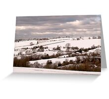 Rural Metropolitan Borough of Stockport Greeting Card