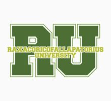 Raxacoricofallapatorius University Kids Tee