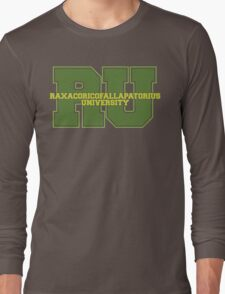 Raxacoricofallapatorius University Long Sleeve T-Shirt