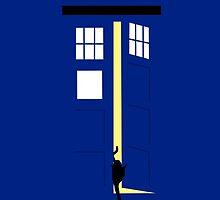 Schrödinger's Blue Box by RobsteinOne