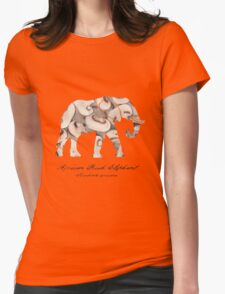 Nature Et Al. Four Womens Fitted T-Shirt