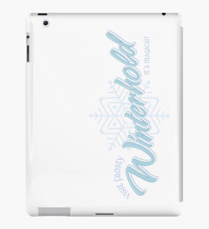 Visit Frosty Winterhold - It's MAGICAL! (tm) iPad Case/Skin