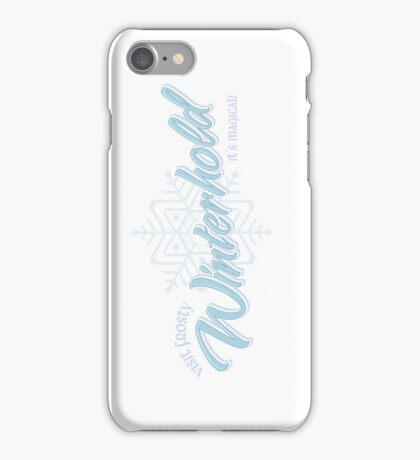 Visit Frosty Winterhold - It's MAGICAL! (tm) iPhone Case/Skin