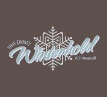Visit Frosty Winterhold - It's MAGICAL! (tm) Baby Tee