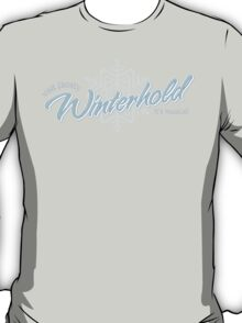 Visit Frosty Winterhold - It's MAGICAL! (tm) T-Shirt