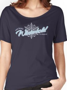 Visit Frosty Winterhold - It's MAGICAL! (tm) Women's Relaxed Fit T-Shirt