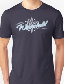 Visit Frosty Winterhold - It's MAGICAL! (tm) Unisex T-Shirt