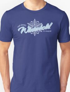 Visit Frosty Winterhold - It's MAGICAL! (tm) Unisex T-Shirt