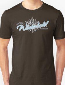 Visit Frosty Winterhold - It's MAGICAL! (tm) T-Shirt