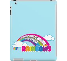 Cabin Pressure - Rainbows iPad Case/Skin