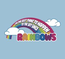 Cabin Pressure - Rainbows T-Shirt