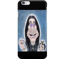 Rock Metal Singer Caricature Drawing iPhone Case/Skin