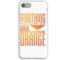 Orange Aura iPhone Case/Skin